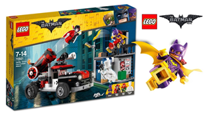 Lego Batman Movie 2018 Harley Quinn Cannonball 70921