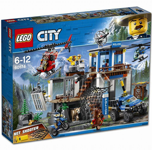 Lego City  Mountin Police Headquarters 60174