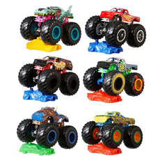 Hot Wheels monster trucks superheroji