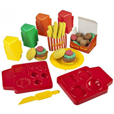 Skwooshi burger set