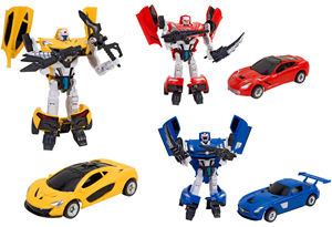 W Toy Robot transformers