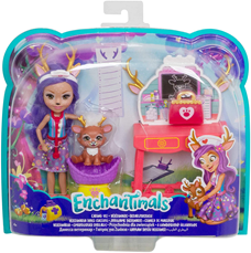 Enchantimals lutka set veterinarska klinika GBX04