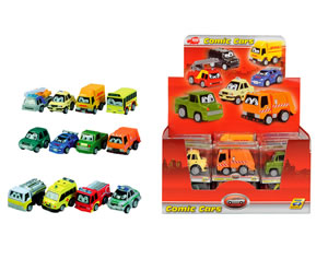 Auto Comic Cars pull back 6 cm