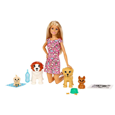 Barbie Doggy Daycare Lutka i Kuce FXH08