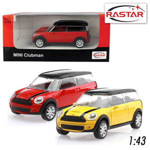 Auto metalni  1:43 Scale Mini Clubman