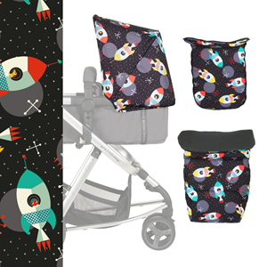 Cosatto set presvlaka za giggle Mix kolica Space Racer