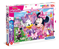 Super Color Brilliant Puzle 104 delova Minnie