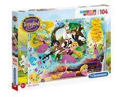 Disney Super Color 104pcs puzzle Zlatokosa