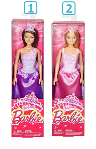 Barbie Lutka Princess