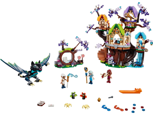 Lego Elves The Elevenstar Tree Bat Attac 41196