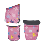 Cosatto set presvlaka za kolica Giggle Mix Happy Stars